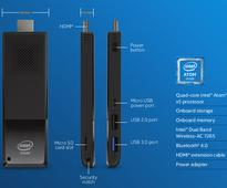 Intel Compute Stick with Core M processors, 4K support announced