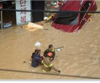 7 dead after Typhoon Chaba drops 11 inches of rainfall in South Korea