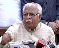 Khattar asks Congress to rein in Amarinder on SYL issue