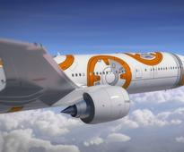BB-8-Themed All Nippon Airways Jet Hits The Skies, Takes First Flight To LA