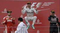 Nico Rosberg on a roll, wins European GP