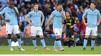 Manchester City players heartbroken by final loss