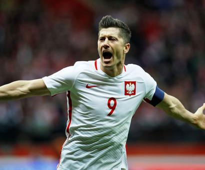 2018 World Cup qualifiers: Lewandowski helps Poland seal berth
