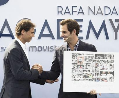 Federer launches Nadal academy in Majorca