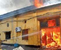 Fires hit two Howrah units