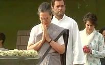 Sonia Gandhi, Manmohan Singh pay tribute to Rajiv Gandhi on his 26th death anniversary