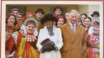 Charles and Camilla reveal Christmas card