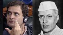#ThankstoNehru: When Rahul Gandhi's Singapore visit made Twitter remember India's first PM