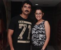 ​Actress Chaya watched the premiere 'Don't Breathe' at Sathyam Cinemas in Chennai