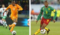 Ivory Coast's Drogba, Cameroon's Eto'o set for Golden Foot award