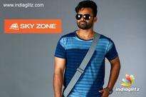 Sai Dharam Tej roped in as Sky Zone's brand ambassador