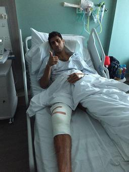 First Look: Nehra undergoes knee surgery in London