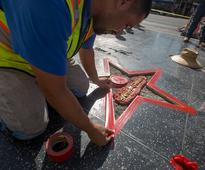 Hollywood is repairing Donald Trump's shattered Walk of Fame star, and it'll cost thousands