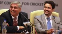 Shashank Manohar bats for BCCI after stepping down as president
