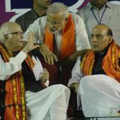 Rajnath Singh announces BJP's 2014 team, Narendra Modi back at the top