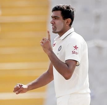 Ashwin engaged in a war of words with Hogg