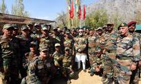 PM Modi celebrates Diwali with soldiers at LoC