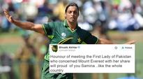 Shoaib Akhtar's English googly: Bowler trolled for his really confusing tweet