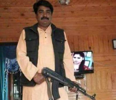 BJP leader poses with AK-47, party says 'not an active member'