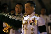 Thailand's crown prince to fly abroad, return next month
