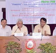 Minister of Railways Shri Suresh Prabhakar Prabhu formally launches NIVARAN portal