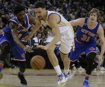 NBA roundup: Klay Thompson lifts Warriors; San Antonio Spurs beat Phoenix Suns