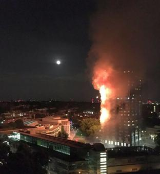 12 killed as massive fire engulfs London residential tower