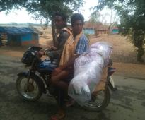 Dead bodies on bike a common sight in Nabarangpur