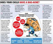 How to make schoolbags light? No easy answers to weighty question