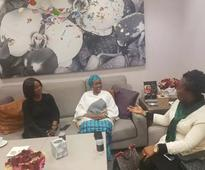 Aisha Buhari Returns To Nigeria: After Month Away From