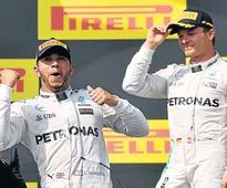 Hungary win for Hamilton