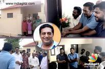 Prakash Raj Builds Homes for the Homeless!