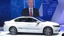 Volkswagen India showcases the Passat GTE at the Auto Expo 2016