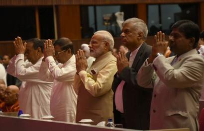 Modi brings Colombo closer to Varanasi, announces direct flights