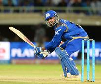 Krunal, bowlers guide Mumbai to thumping victo... Mumbai Indians batsman Krunal Pandya plays a shot during the 2016 Indian Pre...