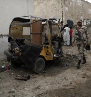 10 security personnel among 12 killed in Pak blast