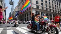 Gay pride parades kick off in major cities amid heavy security post-Orlando