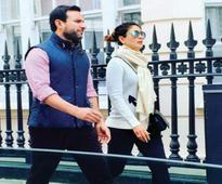 Saif and Kareena go holidaying in London
