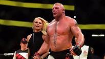 Brock Lesnar punishes Mark Hunt in return to UFC