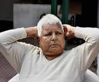 RJD chief Lalu Prasad injured in stage collapse