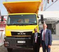 MAN Trucks India unveils CLA EVO range of indigenously manufactured new heavy commercial vehicles for construction and trailer applications at bauma CONEXPO 2016 Announces strong focus towards developing efficient transport solutions