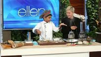 Watch: When Kicha, the 6-year-old chef from Kerala, made breakfast for Ellen DeGeneres