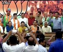 Nine Uttarakhand Congress rebel MLAs join BJP