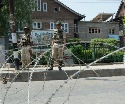 Security forces deployed in Srinagar to prevent seperatists' rally