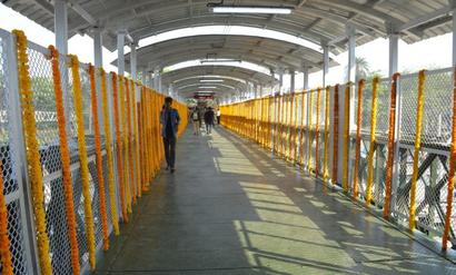 Months after stampede, Army-built Elphinstone FoB opens to public