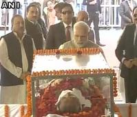 PM Modi pays tribute to former MP CM Sunder Lal Patwa