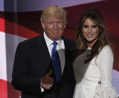 To describe her husband, Melania Trump 'plagiarises' Michelle Obama