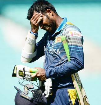 Sri Lanka captain Tharanga suspended for two games