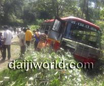 Beltangady: KSRTC bus-Xylo car accident near Kokkada, 5 injured