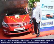 'Mega Experience Hyundai Program' receives overwhelming response